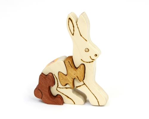 Puzzle «Hase»